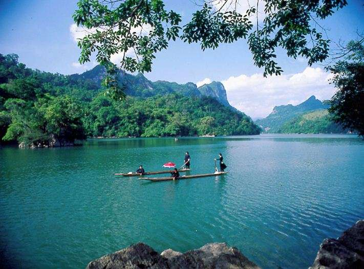 Ba Be national park in Vietnam