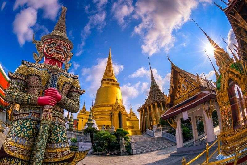 Cultuur snuiven in Bangkok <br>
