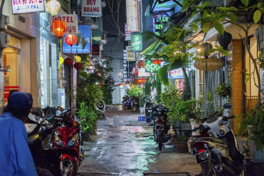 backpackersstreet Ho Chi Minh city - mekong reizen
