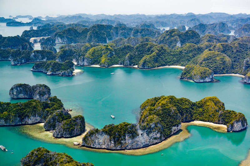 Spectaculair Halong Bay<br>