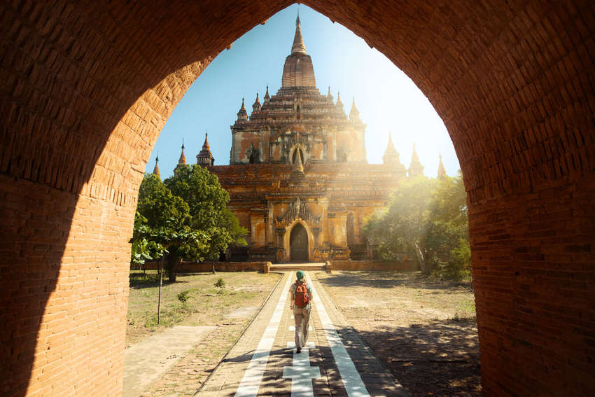 Tempels in Bagan<br>