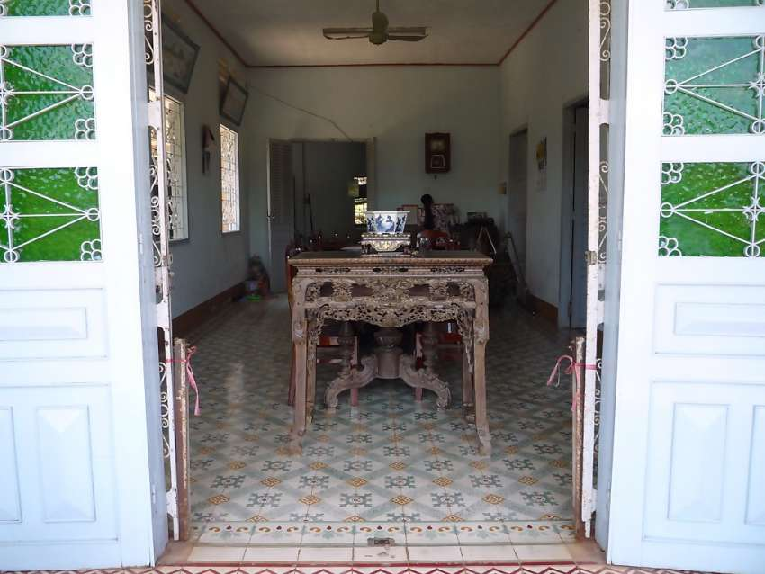 Een traditionele homestay in de Mekong Delta <br>