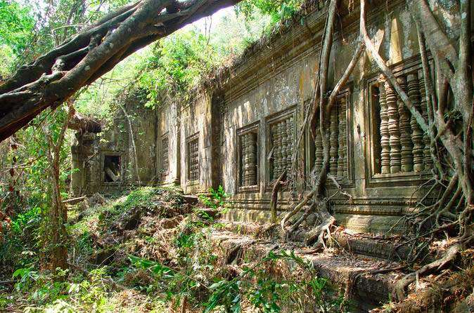 De jungle tempel Beng Mealea<br>